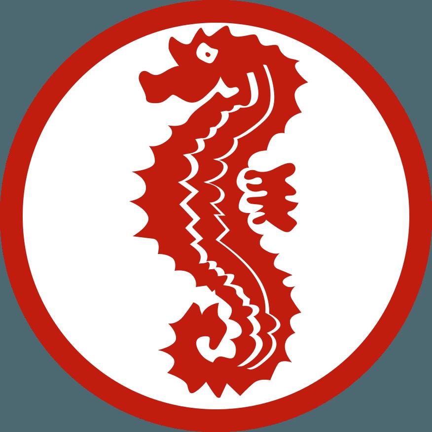 Abzeichen Seepferdchen