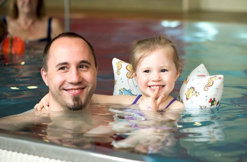 Kleinkinderschwimmen, Schwimmkurs für Kleinkinder