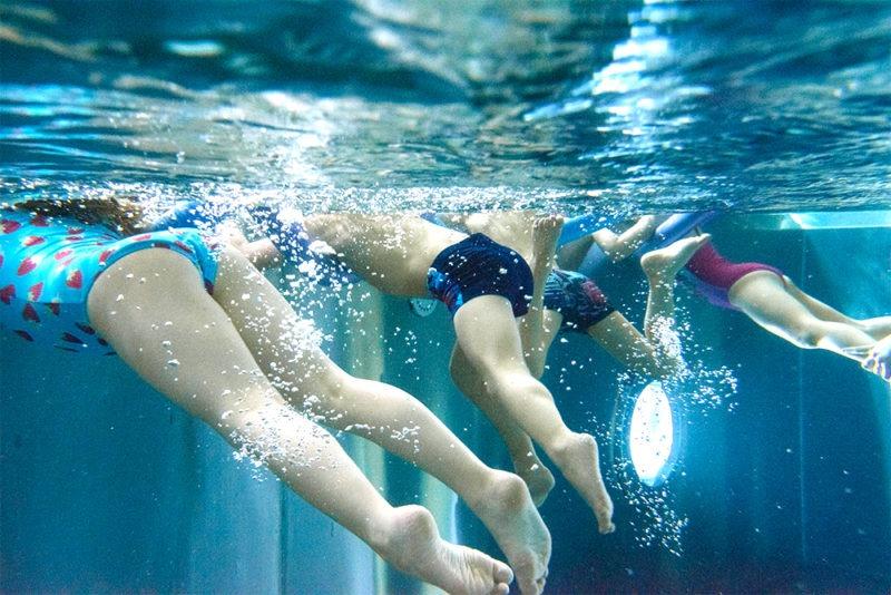 Sicherheitstraining, Schwimmtraining