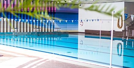 Schwimmbad in München