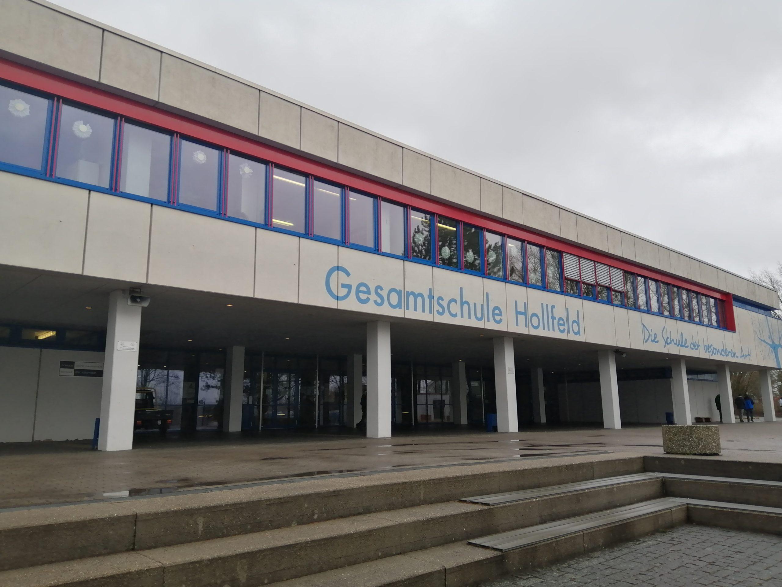 Eingang zur Gesamtschule Hollfeld